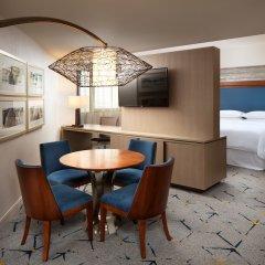 Отель Sheraton Gateway Los Angeles США, Лос-Анджелес - отзывы, цены и фото номеров - забронировать отель Sheraton Gateway Los Angeles онлайн комната для гостей фото 4