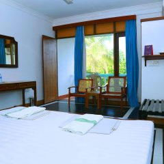 Отель Topaz Beach Шри-Ланка, Негомбо - отзывы, цены и фото номеров - забронировать отель Topaz Beach онлайн комната для гостей фото 4