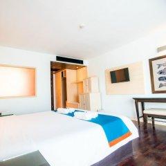 Отель Sea Breeze Jomtien Resort комната для гостей фото 16