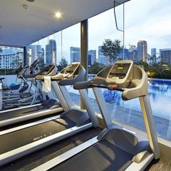 Hotel Boss Сингапур фитнесс-зал фото 4