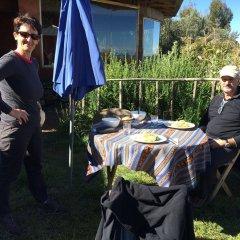 Отель Titicaca Lodge питание
