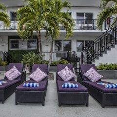 Beachside Apartment Hotel интерьер отеля