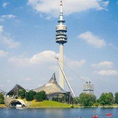 Отель Ibis Muenchen City Arnulfpark Германия, Мюнхен - 3 отзыва об отеле, цены и фото номеров - забронировать отель Ibis Muenchen City Arnulfpark онлайн приотельная территория фото 2