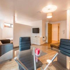 Апартаменты Cosy 1 Bedroom Apartment in Manchester City Centre комната для гостей фото 4
