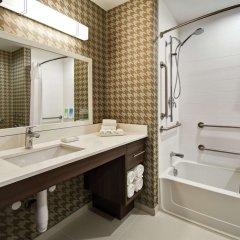 Отель Home2 Suites by Hilton Columbus Downtown США, Колумбус - отзывы, цены и фото номеров - забронировать отель Home2 Suites by Hilton Columbus Downtown онлайн ванная