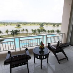 Отель Pattana Golf Club & Resort балкон