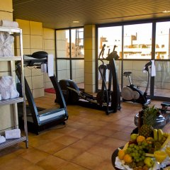 Отель Valencia Center Валенсия фитнесс-зал