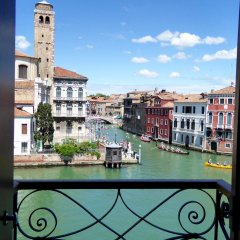 Отель B&B Vista sul Canal Grande балкон