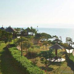 Отель Crowne Plaza Jordan Dead Sea Resort & Spa Иордания, Сваймех - отзывы, цены и фото номеров - забронировать отель Crowne Plaza Jordan Dead Sea Resort & Spa онлайн пляж
