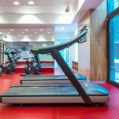 Гостиница Novotel Almaty City Center фитнесс-зал