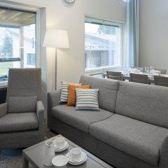 Отель Holiday Club Saimaa Apartments Финляндия, Лаппеэнранта - отзывы, цены и фото номеров - забронировать отель Holiday Club Saimaa Apartments онлайн комната для гостей фото 9