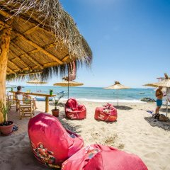 Отель Апарт-Отель Premier Fort Beach Болгария, Свети Влас - отзывы, цены и фото номеров - забронировать отель Апарт-Отель Premier Fort Beach онлайн пляж фото 2