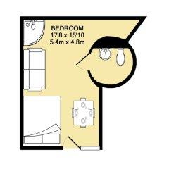Апартаменты Modern Boho Studio - Central Brighton интерьер отеля