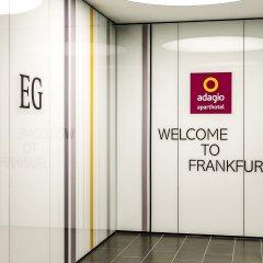 Отель Aparthotel Adagio Frankfurt City Messe бассейн