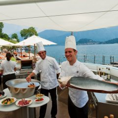 Отель Grand Hotel Tremezzo Италия, Тремеццо - 2 отзыва об отеле, цены и фото номеров - забронировать отель Grand Hotel Tremezzo онлайн питание фото 3