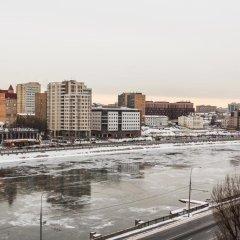 Апартаменты DailyRooms Na Berezhkovskoy Naberezhnoy Apartments Москва балкон