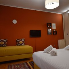 Отель Check Point - Down Town Греция, Афины - отзывы, цены и фото номеров - забронировать отель Check Point - Down Town онлайн комната для гостей фото 2