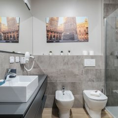 Отель San Petronio Central Studio Италия, Болонья - отзывы, цены и фото номеров - забронировать отель San Petronio Central Studio онлайн ванная
