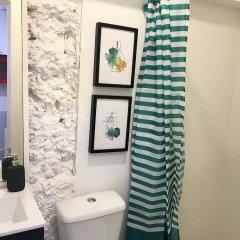 Отель Cozy & beautiful flat in great location Лиссабон ванная