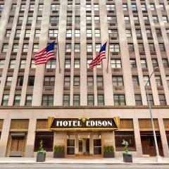Отель Edison США, Нью-Йорк - 8 отзывов об отеле, цены и фото номеров - забронировать отель Edison онлайн вид на фасад