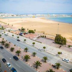 Отель Kenzi Solazur Hotel Марокко, Танжер - 3 отзыва об отеле, цены и фото номеров - забронировать отель Kenzi Solazur Hotel онлайн пляж фото 2