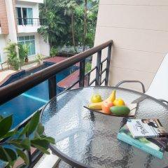 Отель Wonderful Pool house at Kata балкон