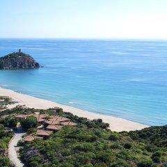 Отель Baia Chia - Chia Laguna Resort Италия, Домус-де-Мария - отзывы, цены и фото номеров - забронировать отель Baia Chia - Chia Laguna Resort онлайн пляж