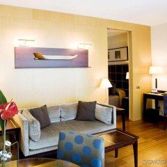 Отель Eurostars Grand Marina Барселона комната для гостей