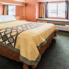 Отель Super 8 Columbus West США, Колумбус - отзывы, цены и фото номеров - забронировать отель Super 8 Columbus West онлайн комната для гостей фото 3