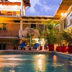 Отель Posada De Roger Пуэрто-Вальярта бассейн фото 2