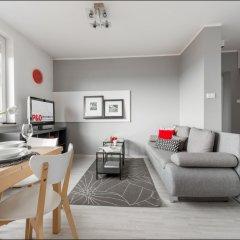 Отель P&O Apartments Dabrowskiego Польша, Варшава - отзывы, цены и фото номеров - забронировать отель P&O Apartments Dabrowskiego онлайн комната для гостей фото 5
