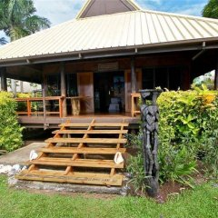 Отель Dolphin Bay Divers Matei Фиджи, Остров Тавеуни - отзывы, цены и фото номеров - забронировать отель Dolphin Bay Divers Matei онлайн балкон