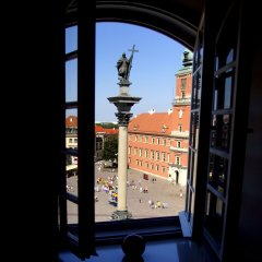 Отель Pokoje Gościnne Dom Literatury балкон