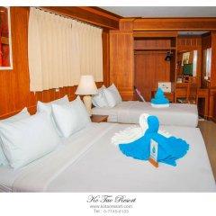 Отель Ko Tao Resort - Sky Zone комната для гостей