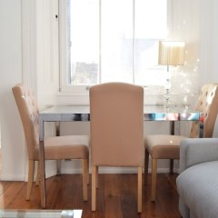 Отель Elegant Luxury Kensington Flat With Terrace комната для гостей фото 3