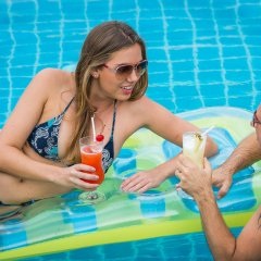 Отель Baywater Resort Samui бассейн