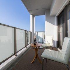 Отель Residence Hotel Hakata 5 Япония, Фукуока - отзывы, цены и фото номеров - забронировать отель Residence Hotel Hakata 5 онлайн балкон
