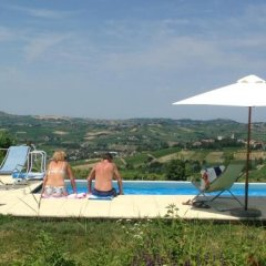 Отель Villa Gaia Сан-Мартино-Сиккомарио бассейн фото 3