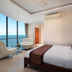 Отель Corvin Hotel Вьетнам, Вунгтау - отзывы, цены и фото номеров - забронировать отель Corvin Hotel онлайн комната для гостей фото 2