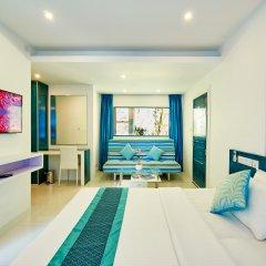 Бутик-отель Planktons Beach Мале комната для гостей
