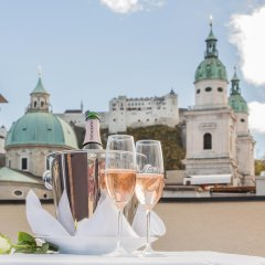 Small Luxury Hotel Goldgasse Зальцбург балкон