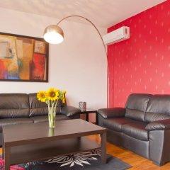 Отель Vitosha Downtown Apartments Болгария, София - отзывы, цены и фото номеров - забронировать отель Vitosha Downtown Apartments онлайн комната для гостей фото 3
