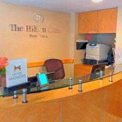 Отель Hilton Club New York интерьер отеля