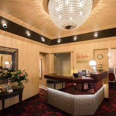 Romantik Hotel das Smolka интерьер отеля