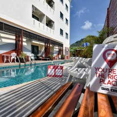 Отель NIDA Rooms Talat Yai Old Town Phuket бассейн