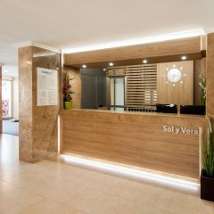 Отель Apartamentos Sol y Vera интерьер отеля