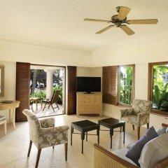 Отель Hilton Mauritius Resort & Spa 5* Люкс с различными типами кроватей фото 7