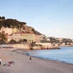 Отель Mercure Nice Promenade Des Anglais Франция, Ницца - - забронировать отель Mercure Nice Promenade Des Anglais, цены и фото номеров пляж фото 2