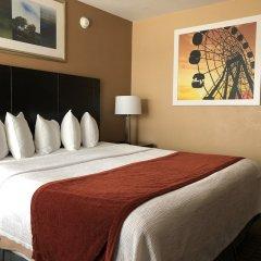 Отель Days Inn by Wyndham Hollywood Near Universal Studios сейф в номере