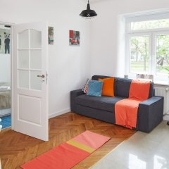 Отель Lazienki Krolewskie Apartment Польша, Варшава - отзывы, цены и фото номеров - забронировать отель Lazienki Krolewskie Apartment онлайн комната для гостей фото 3